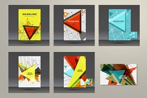 Abstract background triangle Vol.2