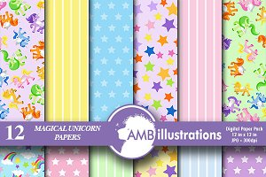 Unicorn Digital Papers AMB-162