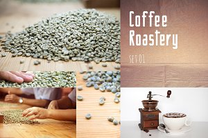 Coffee roaster collection