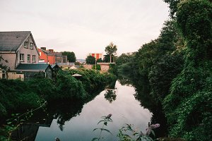 Overlooking a River II