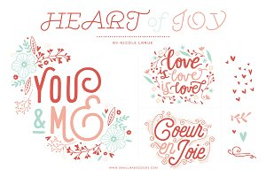 Heart of Joy (Clipart)