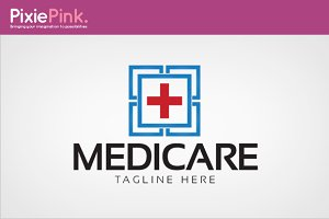 Medi Care Logo Template