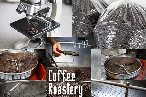 Coffee roaster collection, set 02