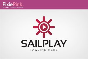 Sail Play Logo Template