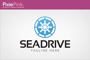 Sea Drive Logo Template