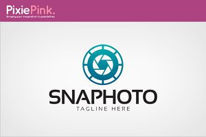 Snap Photo Logo Template