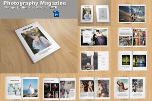 Photography Lookbook | Magazine-V339