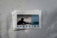 Surfside Lookbook Brochure Template by  in Templates