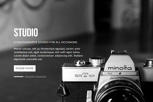Studio Muse Template