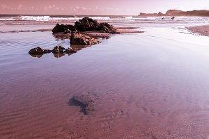 Rippled sand beach III