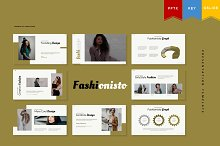Fashionisto | Presentation Template by  in Presentations