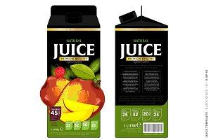 Packaging Design Mango Juice