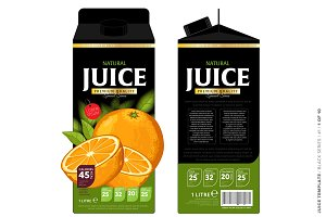 Packaging Design Orange Juice