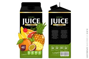 Packaging Design Tropical Juice