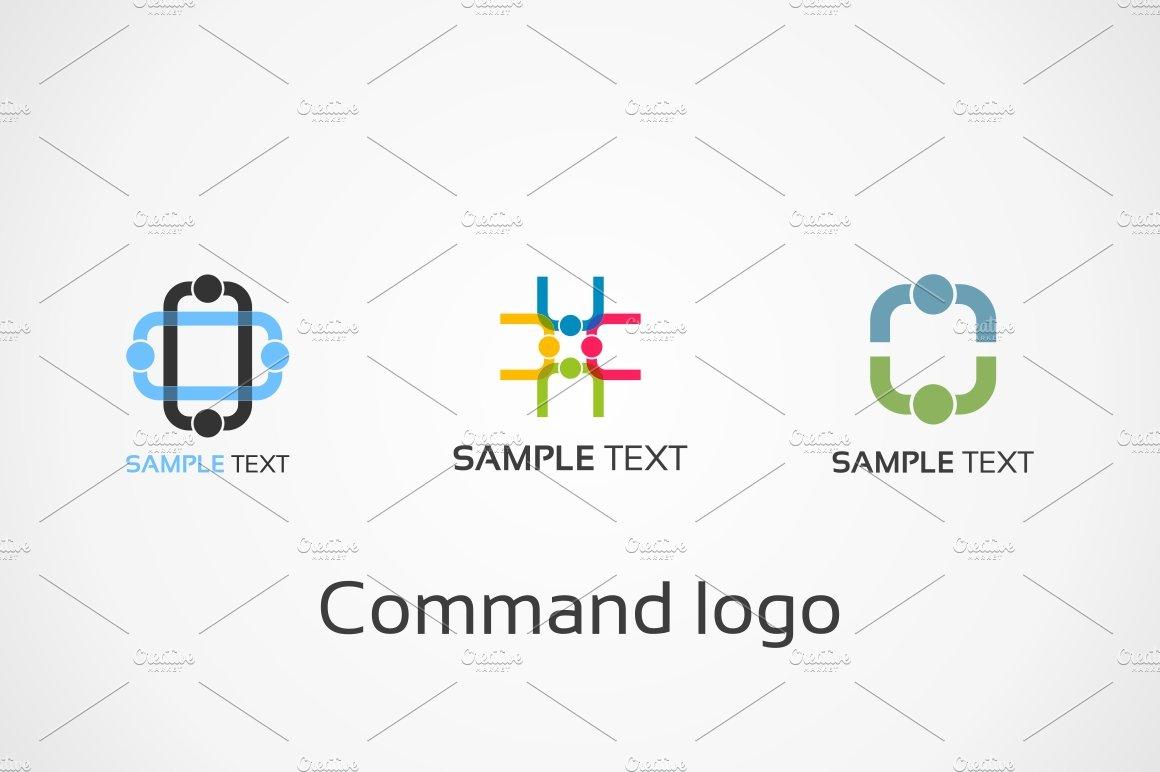 Command logo ~ Logo Templates ~ Creative Market