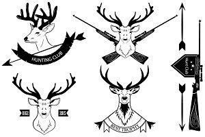 Hunting logos (hunting club)