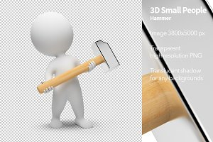 3D Small People - Hammer