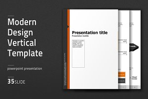 Modern Design Vertical Template