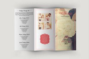 Trifold Photography Brochure-V341