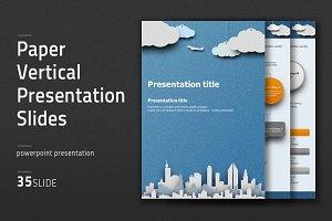 Paper Vertical Presentation Slides