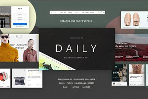Daily UI Kit