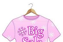 Big Sale T-shirt Hangers