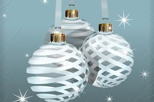 Transparent Christmas Balls