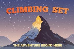 BIG CLIMBING SET