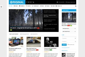 Original - Magazine WordPress Theme