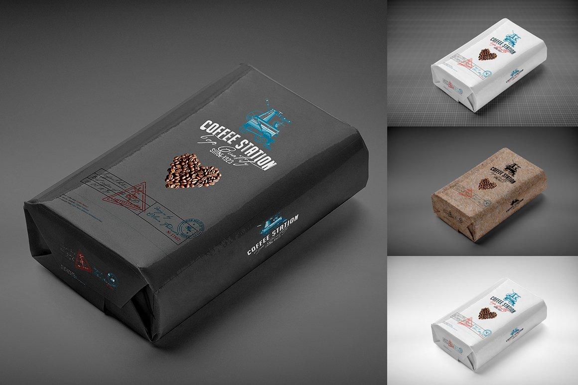 Coffee Bag Mock Up Product Mockups Creative Market