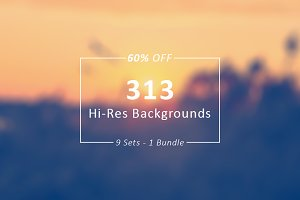 313 Backgrounds & Images Bundle