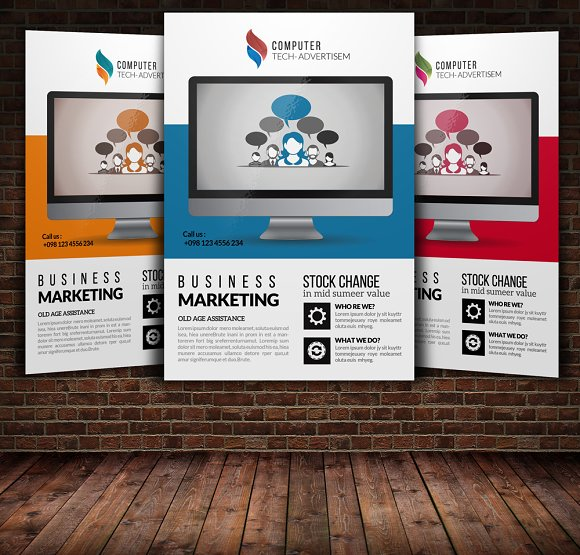Product Promotion Flyer Templates Flyer Templates on Creative Market – Product Flyer