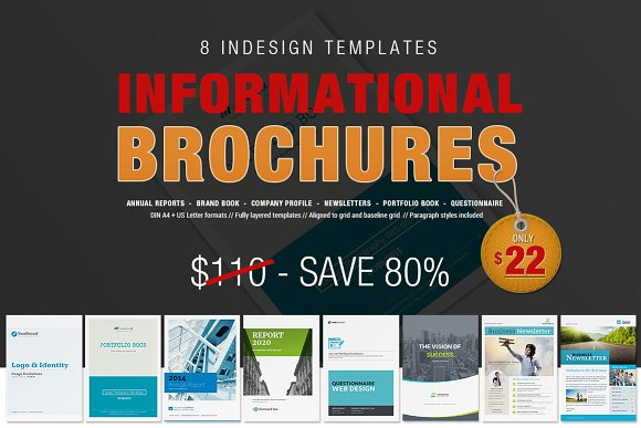 8 informational brochures bundle brochures