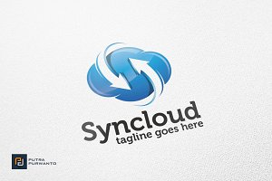 Syncloud / Cloud - Logo Template