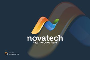 Novatech / N letter - Logo Template