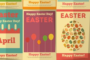 Retro Easter Posters
