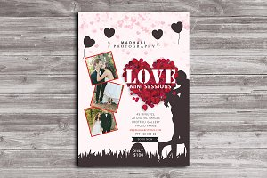 Love Mini Sessions Template