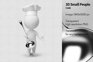 3D Small People - Cook