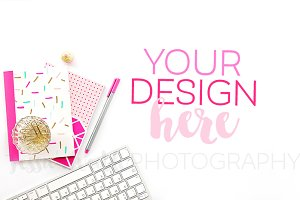 Keyboard, Sprinkles Stationery Photo