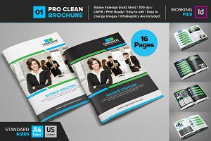 Clean Brochure Template 01
