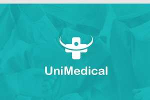 Uni Medical Logo Template