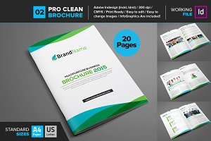 Clean Brochure Template 02