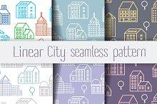Linear city pattern