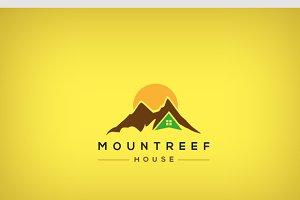 Mountreef logo template