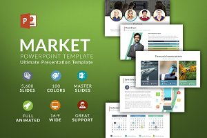 Market | Powerpoint template