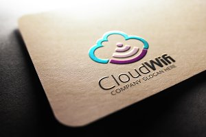 Cloud Wifi Logo