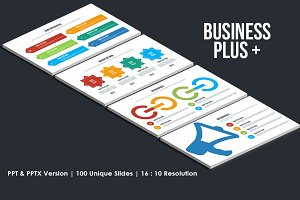 Business Plus Presentation Template