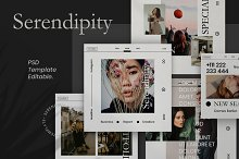 Serendipity-Minimalism Social Media