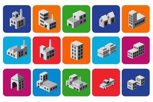 Icons city