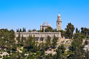 Dormition of the Mother of God Abbey in Jerusalem